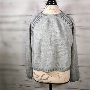 The Territory Ahead wool soft cozy crop cashmere